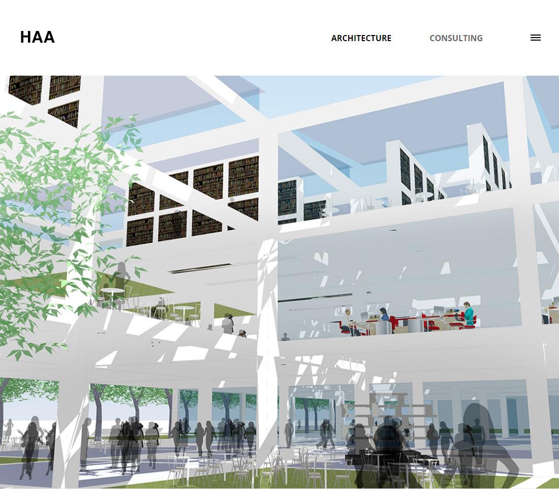 ホームページ画面01_株式会社HAA一級建築士事務所